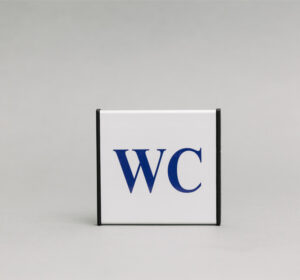 Bendro tualeto-WC informacinis ženklas, skirtas nurodyti tualetą Jūsų patalpose.